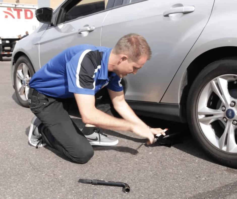 Decatur Tire Change